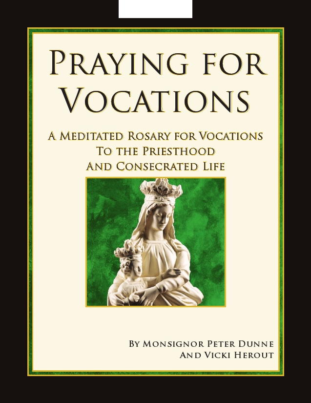 Booklet Cover - Vocations Rosary